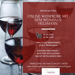 16.04.2021 - Online Weinprobe mit dem Weinhaus Hülsmann
