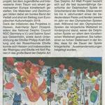 28. Juni 2018 Rheingau Echo zur Aktion Delphic  Art Wall