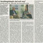 """3. Mai 2018  Rheingau Echo zur Völkermühle  """"Fluchtursachen"""""""