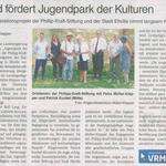 5. September 2018 Wochenblatt zum Jugendpark der Kulturellen