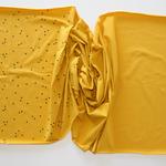 stoffart - minidots, senf - bio-jersey