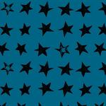 käpynen - spider stars blue - bio-sommersweat