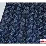 lillestoff - summerjeans inked flowers - bio-jersey