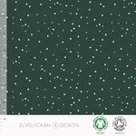 elvelyckan - spots, evergreen - bio-jersey