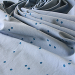 stoffart - minidots, denim - bio-jersey