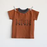 stoffart - giraffen, karamell - shirt gr. 62/68