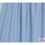 lillestoff - uni hellblau-meliert - bio-jersey