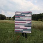 patchworkdecke - jelly roll # 1 - vorderseite