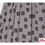 lillestoff - big flowers, warmgrey - bio-jersey