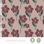 elvelyckan - amaryllis, rose bio-jersey