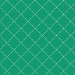 käpynen - stiches emerald - bio-sommersweat