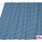 lillestoff - streifen blau - bio-jersey
