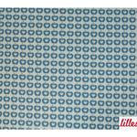 lillestoff - apfelliebe, blau - bio-jacquard