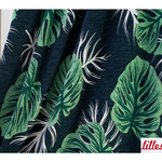lillestoff - monstera - bio-jersey