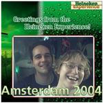 Marc & Dana in Amsterdam 2004!