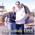 Marc & Dana - The English Studies in San Francisco 1999!