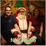Marc & Dana in NYC 2006 (Christmas Shopping)!