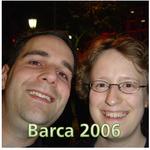 Marc & Dana in Barcelona 2006!