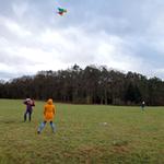 Windige Luftakrobatik