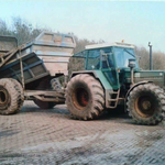 Fendt Favorit 615 LSA mit Kipper