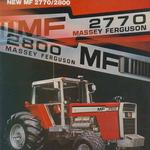Massey Ferguson Traktor 2770