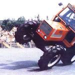 Fiat 1180 DT Stuntshow