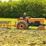 Fiat Traktor mit Pflug