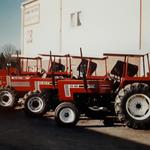 Neue Fiat Traktoren