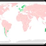 Länder ohne Tollwut