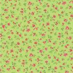 Stoff Grün 1 - Streublümchen - NEU