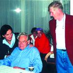 Frau und Herr Flora mit Hans Aichberger