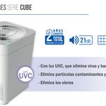 Catálogo purificador Hepa serie Cube