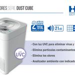 Catálogo purificador Hepa serie Dust Cube