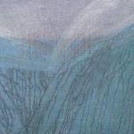 campo energético XVIII, 2013 · mixta / tela · 140 x 220 cm