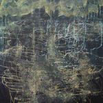 campo energético IX, 2012 · mixta / tela · 160 x 130 cm