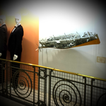Aux Galeries Lafayette Fantastiques 2.013 Dijon. Exposition Créations Fantastiques Hervé Arnoul.