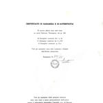 originale  firmato e con certificato di autenticità, esemplari tirati a mano personalmente dall'autore presso laboratorio tipografico Cappello s.n.c. di Savona – Le matrici eseguite su tavolette di pero-a lavoro ultimato sono state biffate.