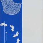 092 F, Amato Oreste, Ominidi (cover album), 1971, carta CM Fabriano 100/100 cotone 300 gr., litografia 30/50, 50x70, magazzino temp. costante in scatola di legno D