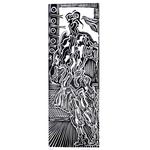 carta Fabriano Rosaspina gr. 285 Xilografia n. 2 esemplare XIV/XV 50x70