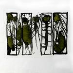 itolo opera:s.t. Codice: 030 C Pietro Gatti, 1968 ,Italia ,carta ,incisione 11/30 ,54x39 cm. Stile: informale,concettuale