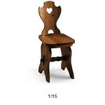 sedia fratino con schienale 122