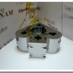 ワイヤーカット鏡面加工品   材質:超硬