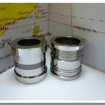 円筒研削鏡面加工品  材質:SK3