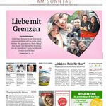 Tageszeitung Kurier - Ausgabe 19.4.2020 Titelbild