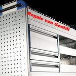 Regalsystem von Gentili