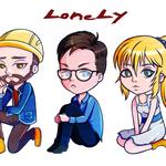 Chibi-LoneLy (Johnny, Tim, Adrianna)