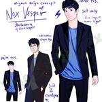Project Blackborn - Character conzept (Nox Vesper)