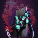 'TSW Abaddon of Demon Sister' - Obscura Reign: Ein Fanart und Weihnachtsgeschenk für Valentine von Val Games