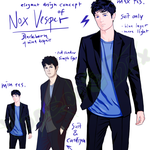 Project Blackborn - Charakterkonzept (Nox Vesper)