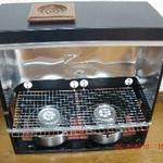 パソコン暖炉